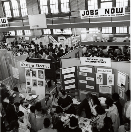 Jobs Now! Conference, Detroit, 1967.