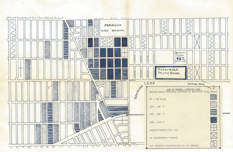 Map, Sojourner Truth Housing Project